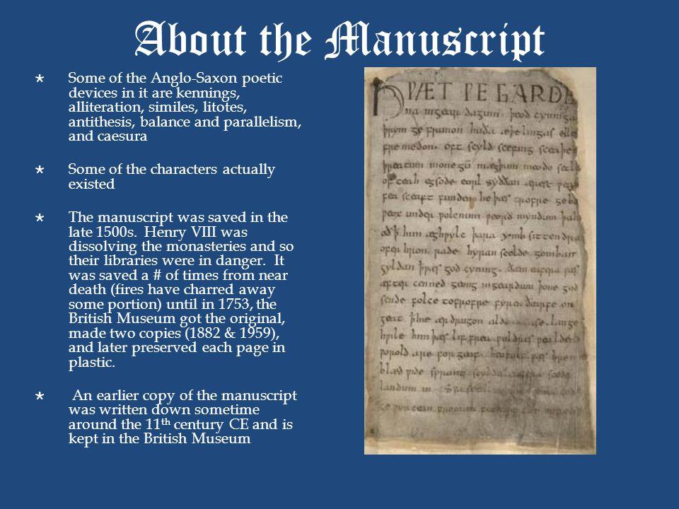 About the Manuscript