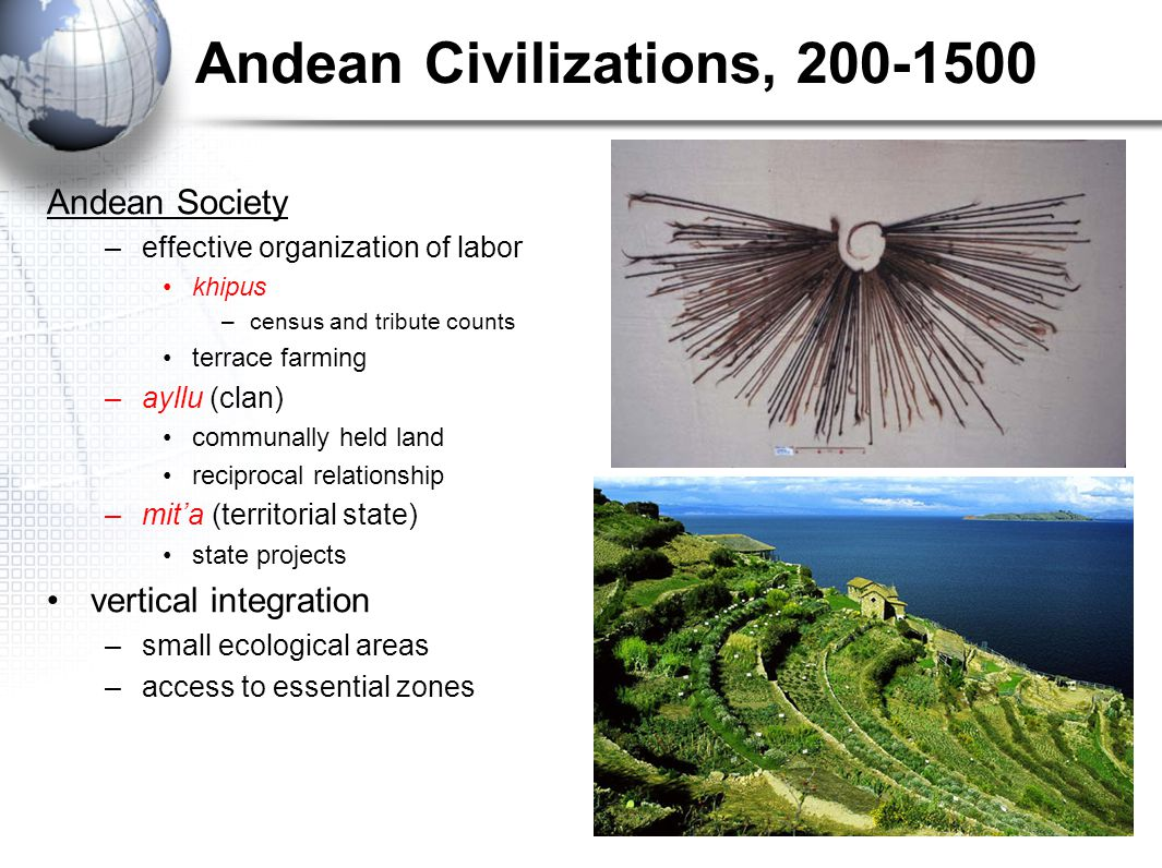 Andean Civilizations, 200-1500