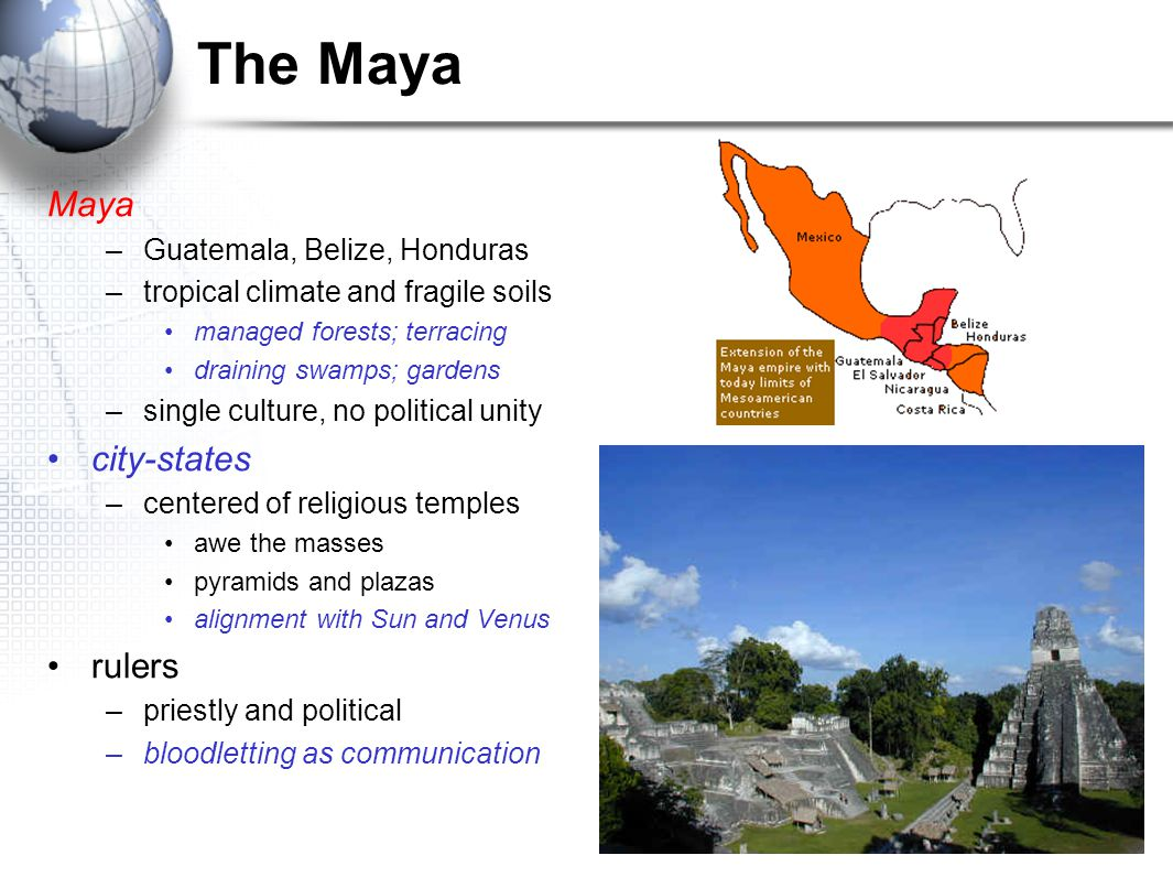 The Maya Maya city-states rulers Guatemala, Belize, Honduras
