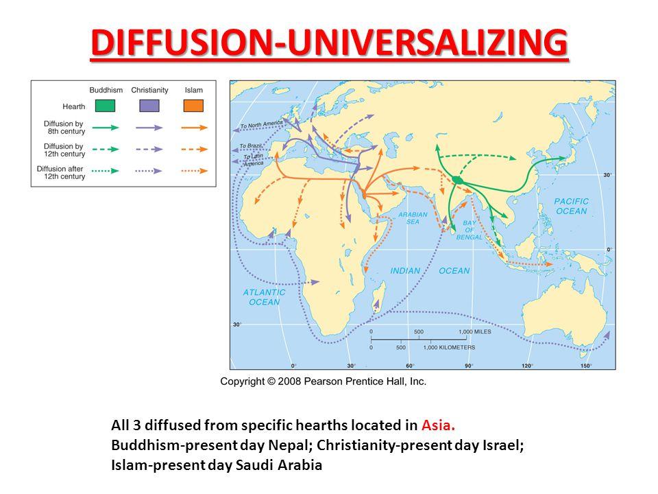 DIFFUSION-UNIVERSALIZING