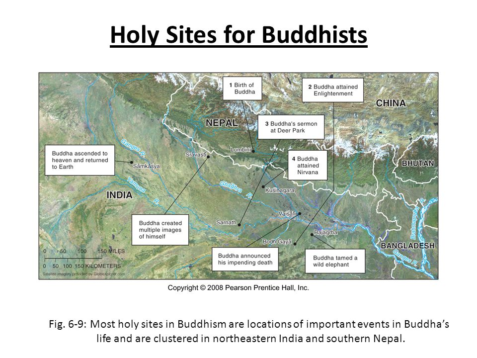Holy Sites for Buddhists