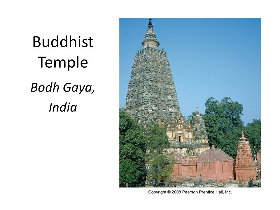 Buddhist Temple Bodh Gaya, India