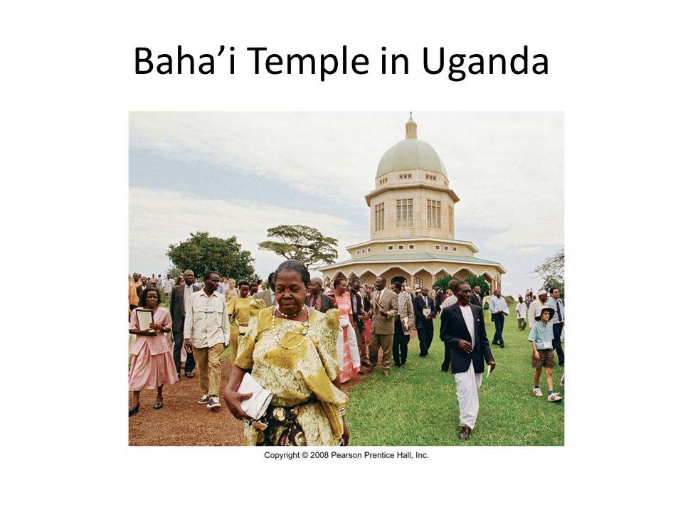 Baha'i Temple in Uganda