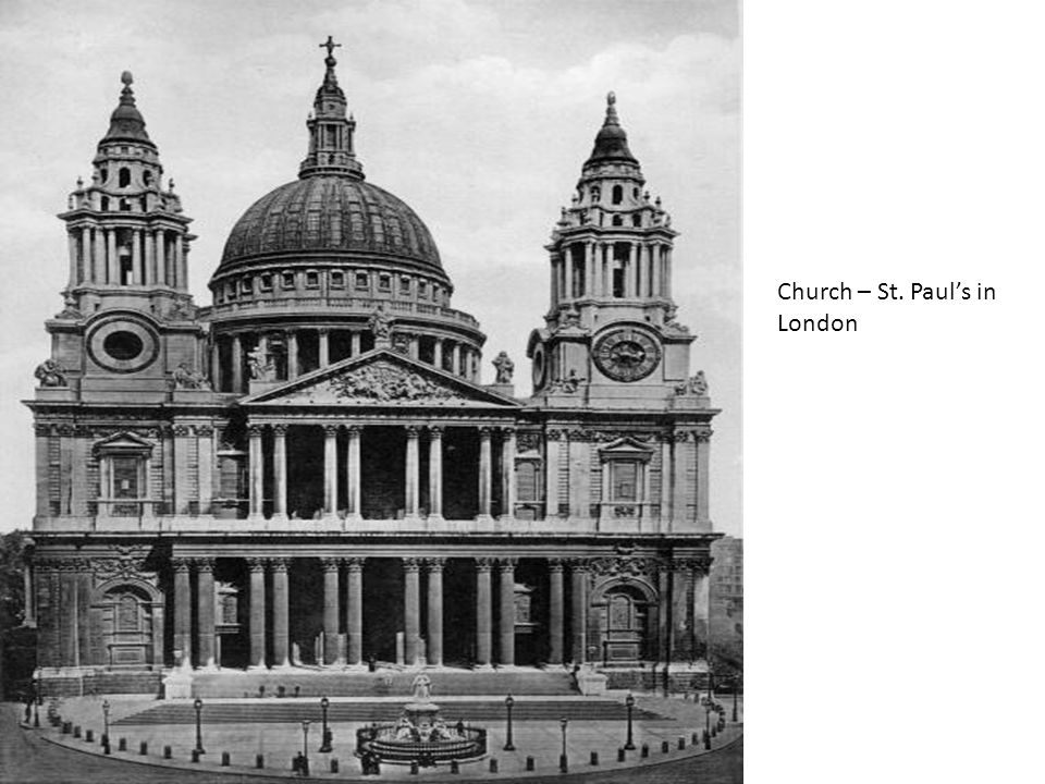 Church – St. Paul's in London