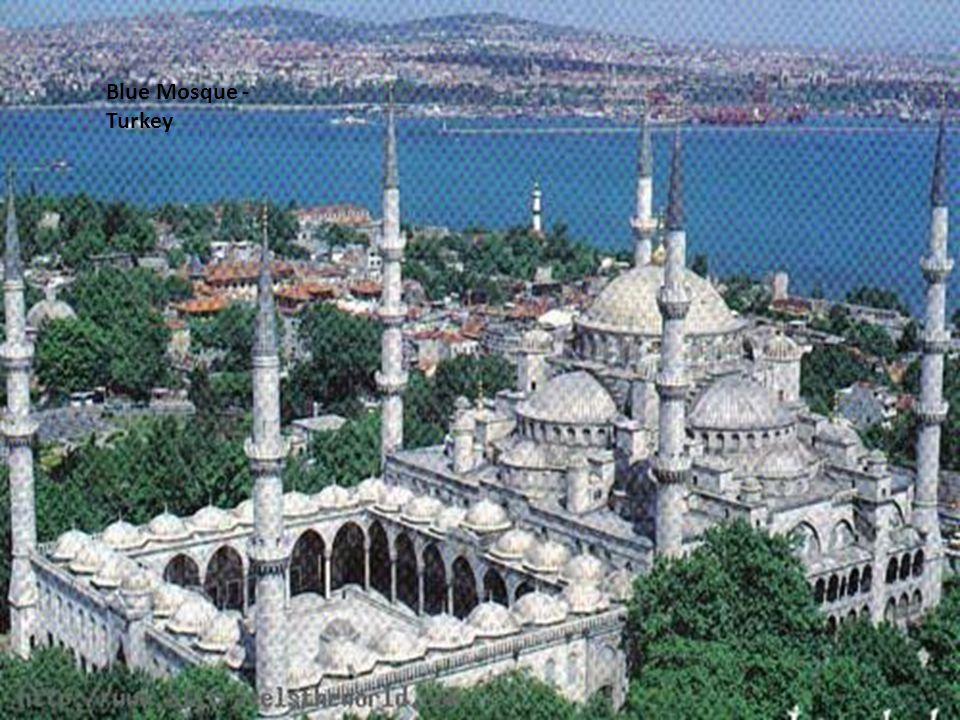 Blue Mosque - Turkey Blue Mosque - Turkey