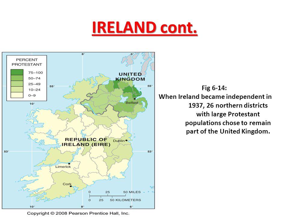 IRELAND cont. Fig 6-14: