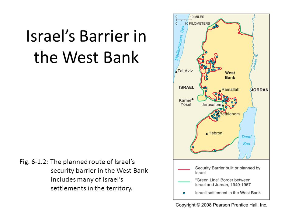 Israel's Barrier in the West Bank