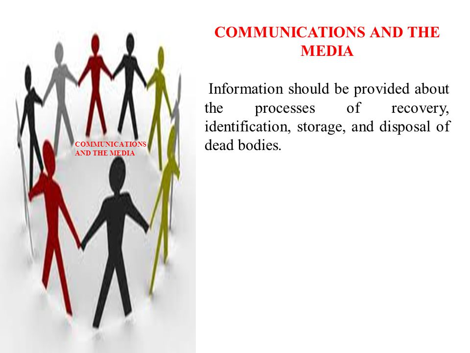 COMMUNICATIONS AND THE MEDIA