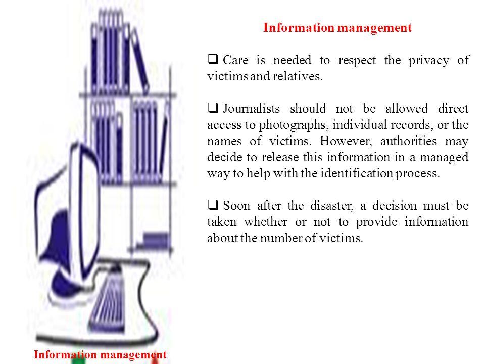 Information management Information management