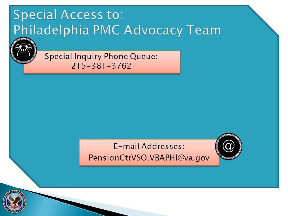Special Access to: Philadelphia PMC Advocacy Team
