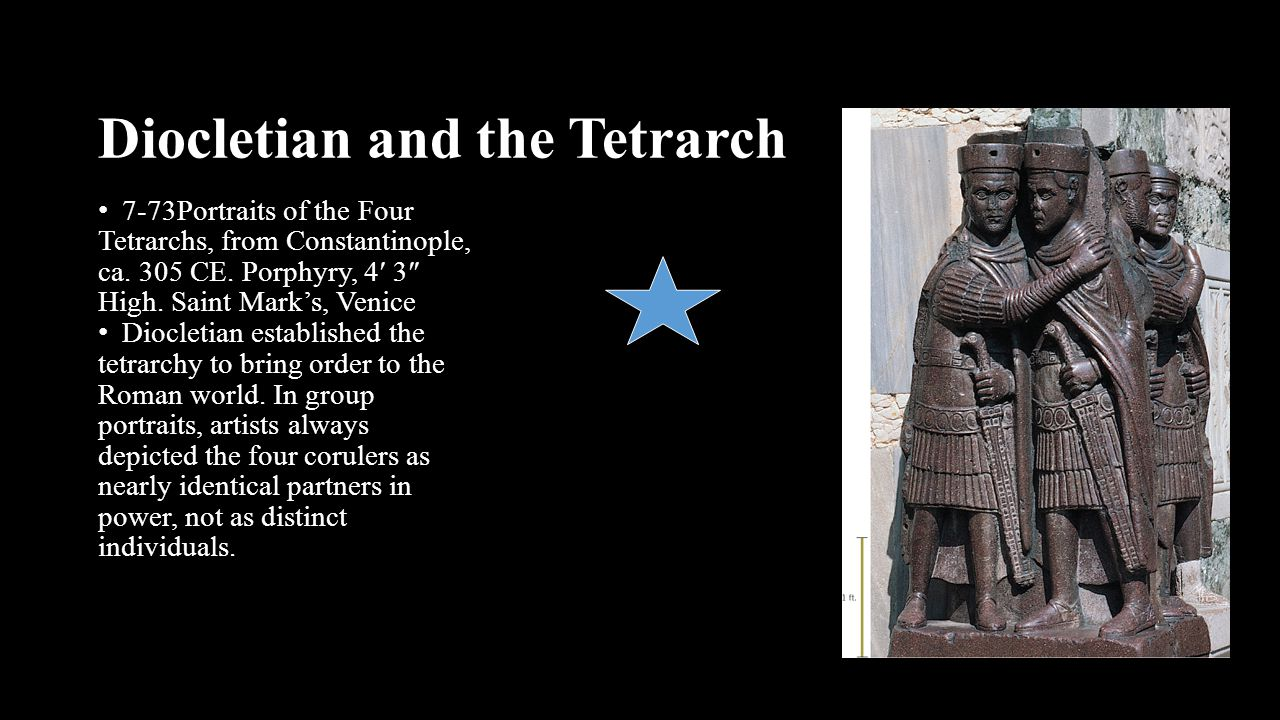 Diocletian and the Tetrarch