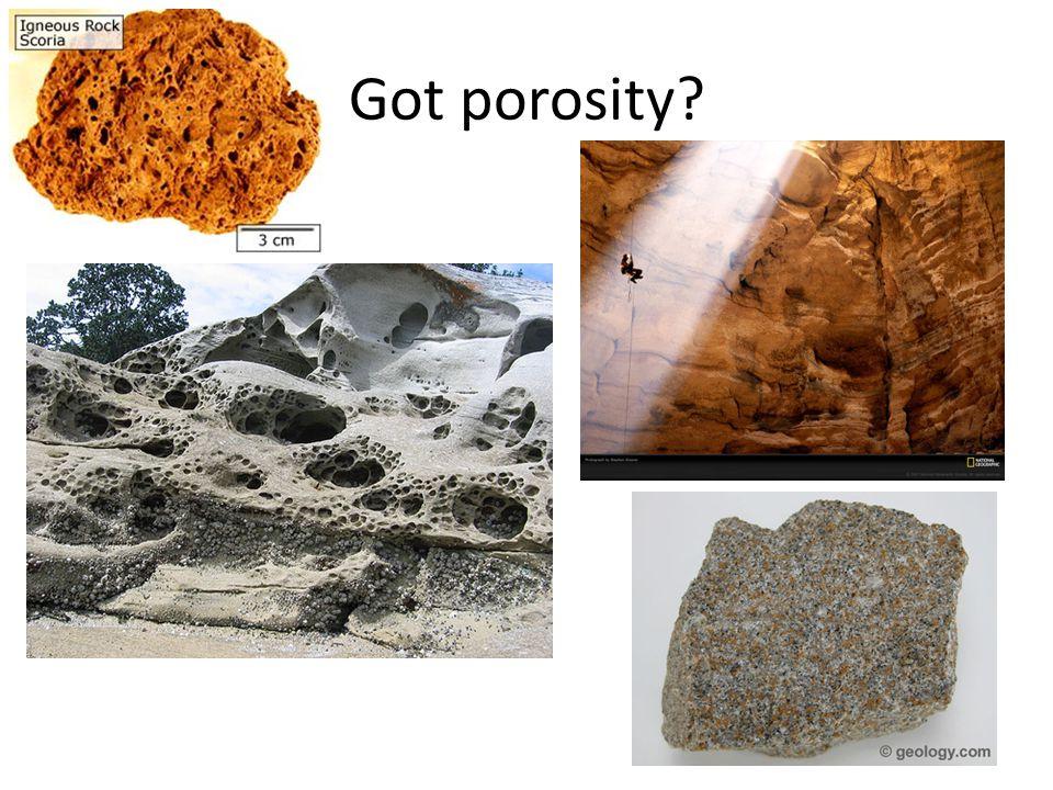 Got porosity