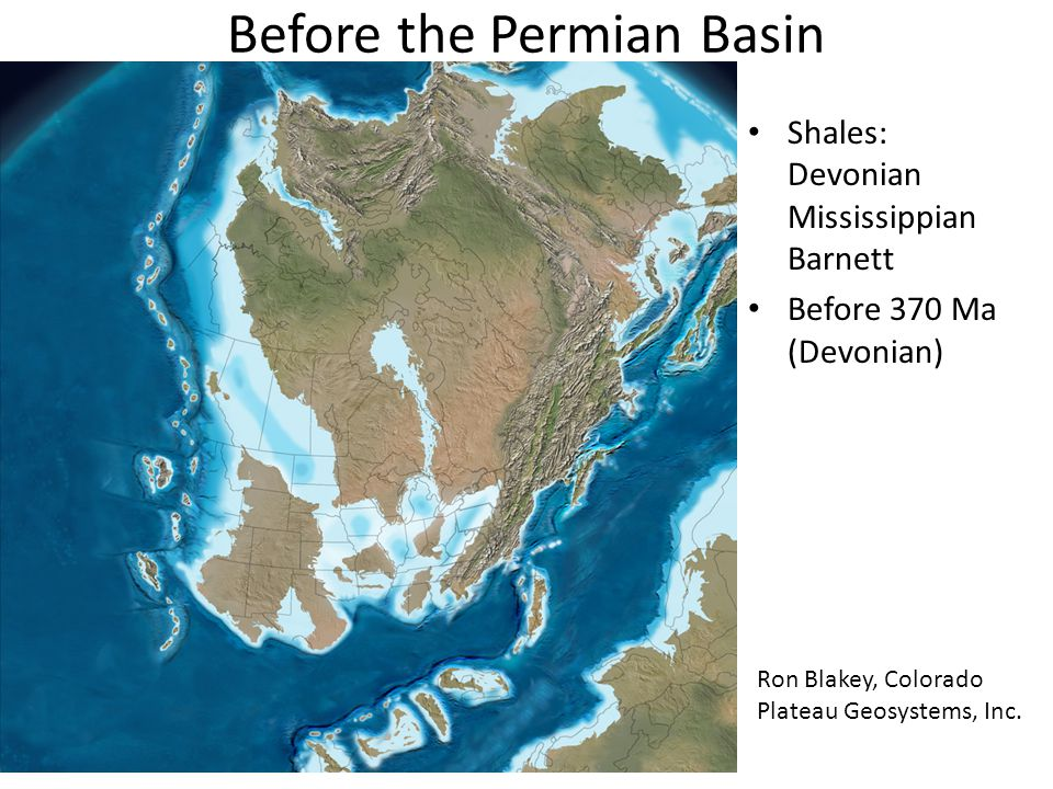 Before the Permian Basin