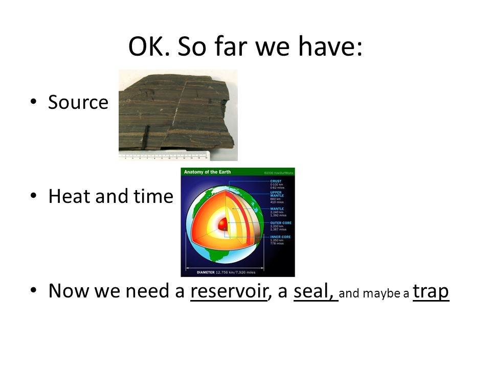 OK. So far we have: Source Heat and time