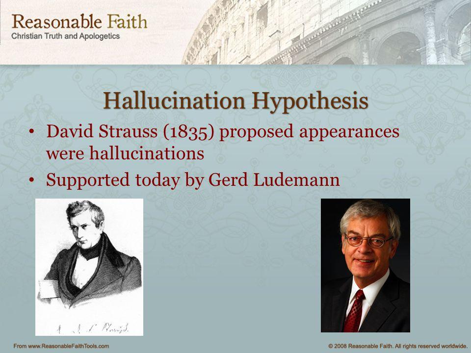 Hallucination Hypothesis