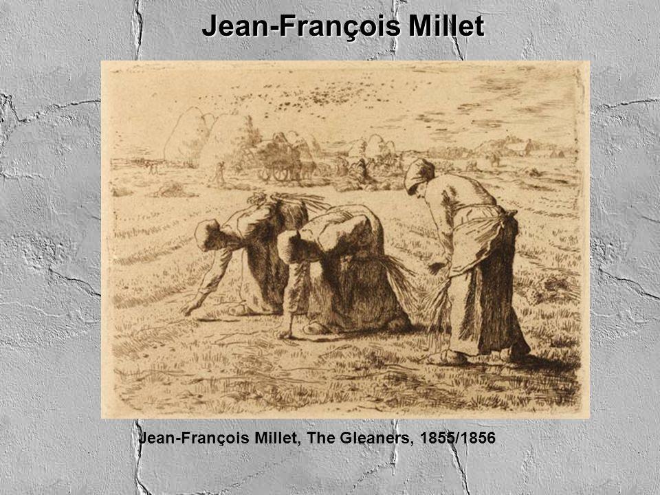 Jean-François Millet Jean-François Millet, The Gleaners, 1855/1856
