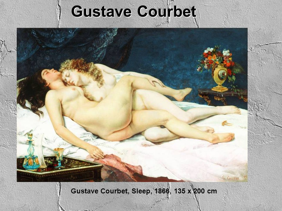 Gustave Courbet Gustave Courbet, Sleep, 1866, 135 x 200 cm