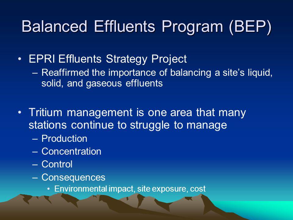 Balanced Effluents Program (BEP)