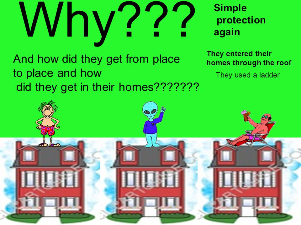 Why And how did they get from place to place and how