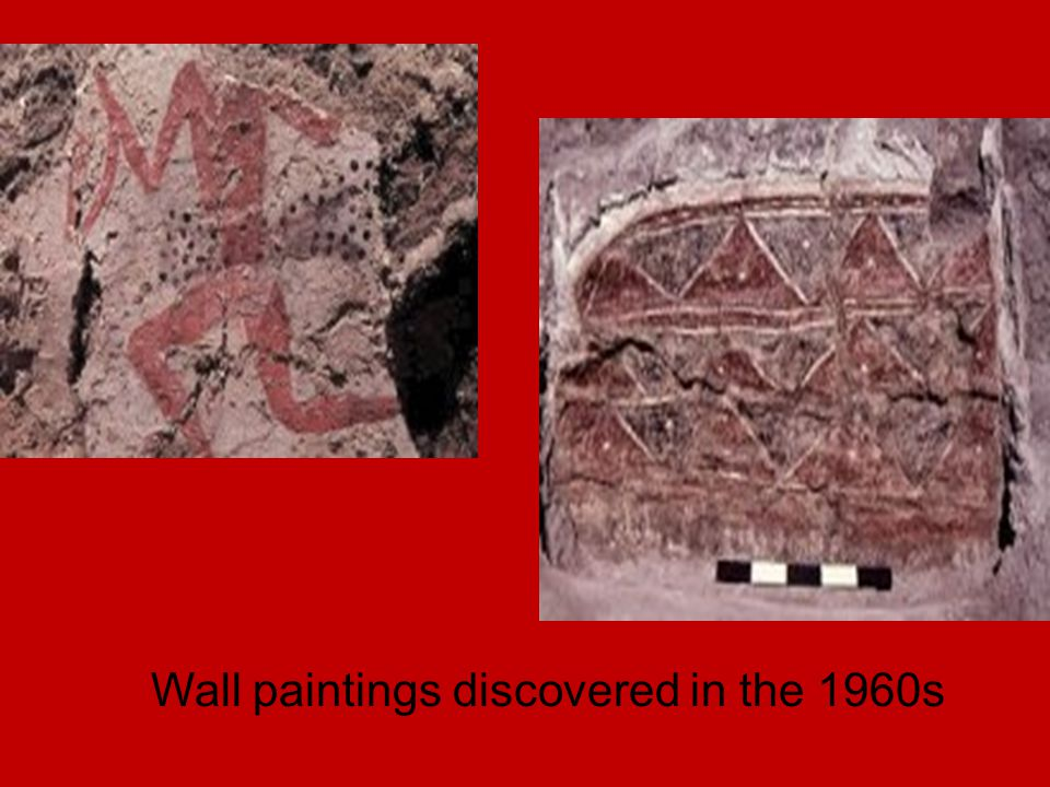 Wall paintings discovered in the 1960s