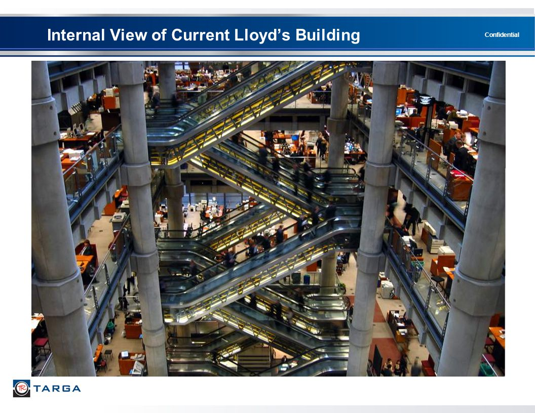 Internal View of Current Lloyd's Building