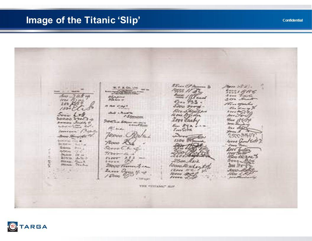 Image of the Titanic 'Slip'