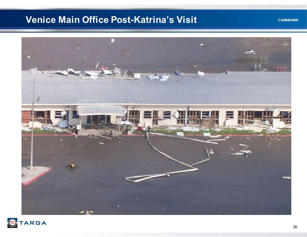 Venice Main Office Post-Katrina's Visit