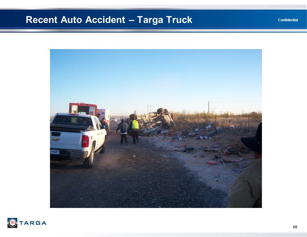 Recent Auto Accident – Targa Truck