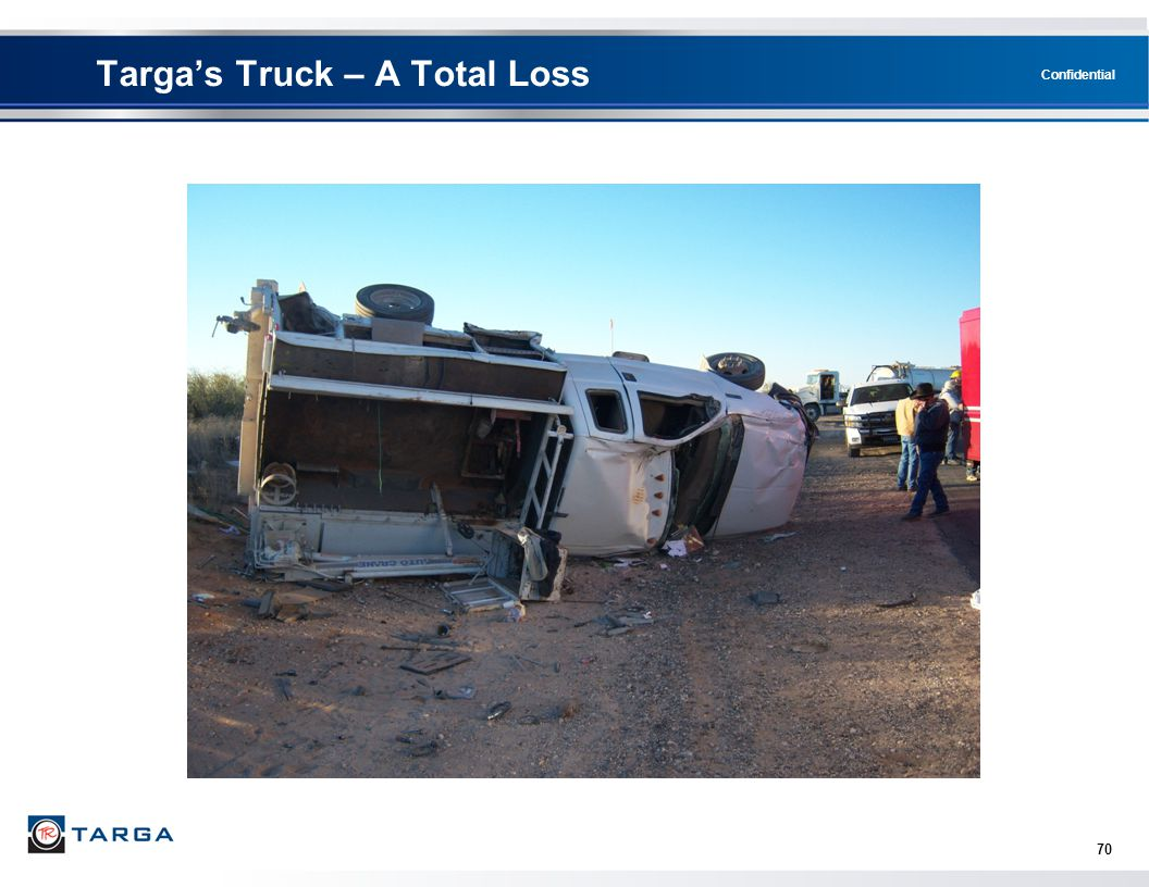 Targa's Truck – A Total Loss