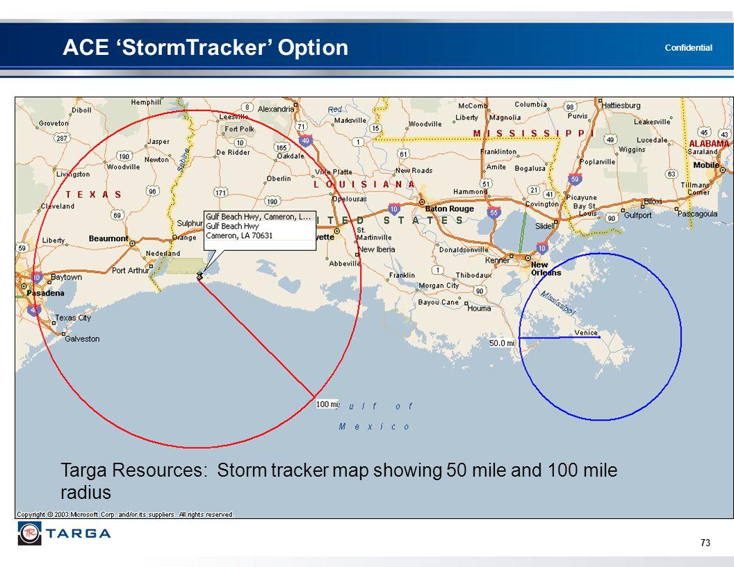 ACE 'StormTracker' Option