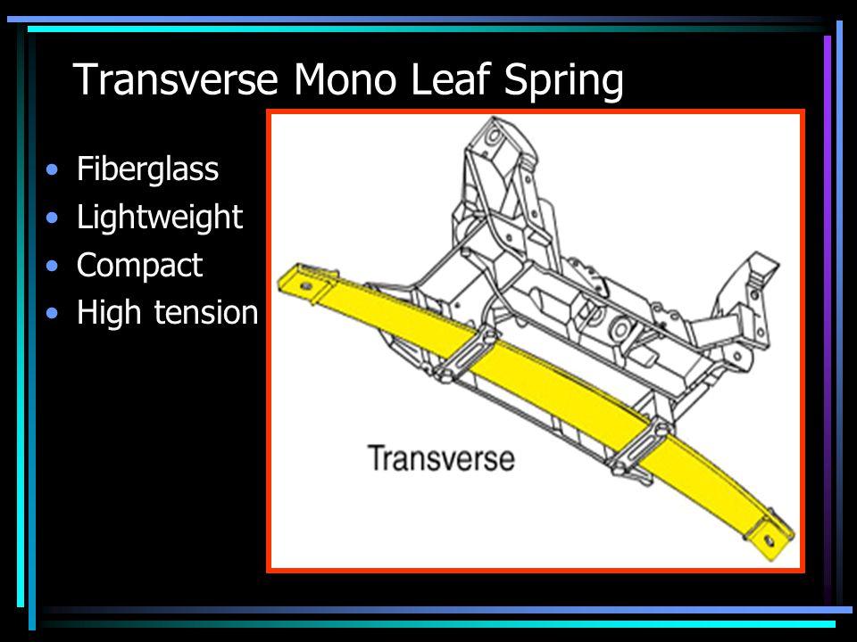 Transverse Mono Leaf Spring