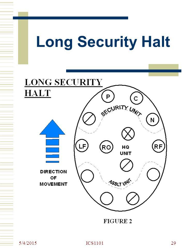 Long Security Halt 4/14/2017 ICS1101
