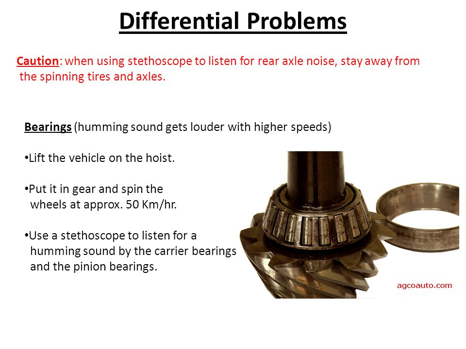 Differential Problems