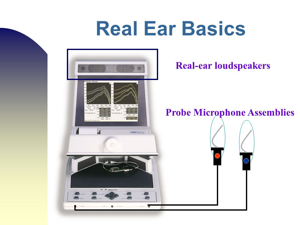 Real Ear Basics Real-ear loudspeakers Probe Microphone Assemblies