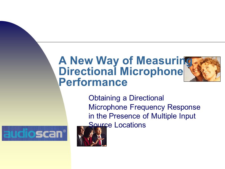 A New Way of Measuring Directional Microphone Performance