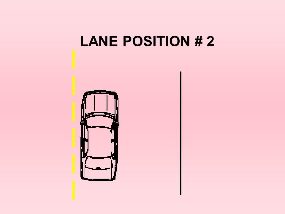 LANE POSITION # 2 21