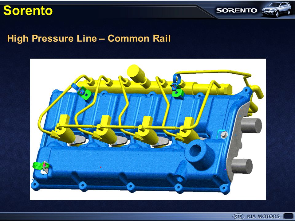 Sorento High Pressure Line – Common Rail