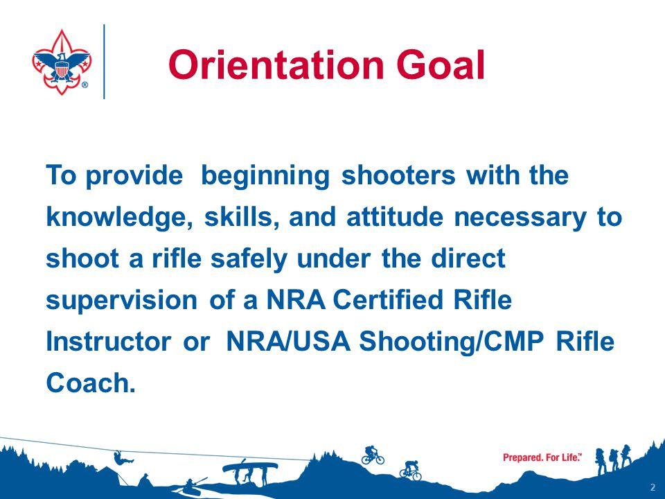Orientation Goal