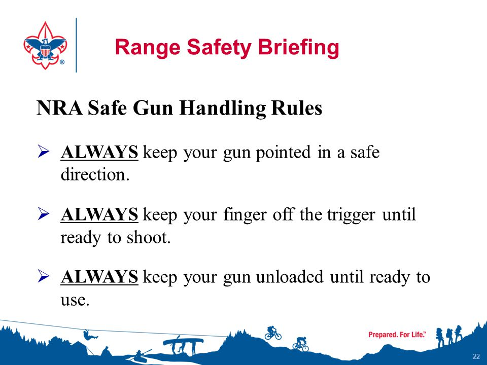 NRA Safe Gun Handling Rules