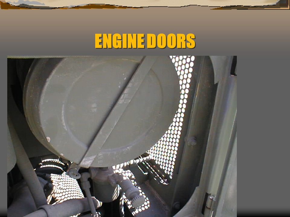 ENGINE DOORS .