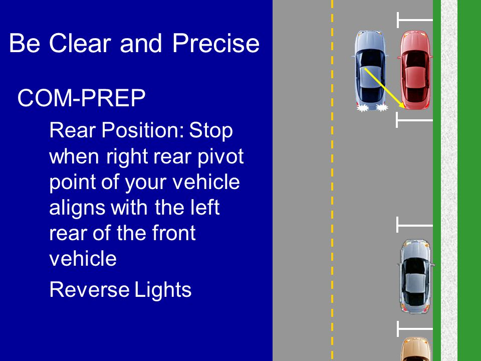 Be Clear and Precise COM-PREP