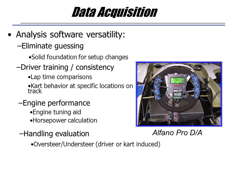 Data Acquisition Analysis software versatility: Eliminate guessing