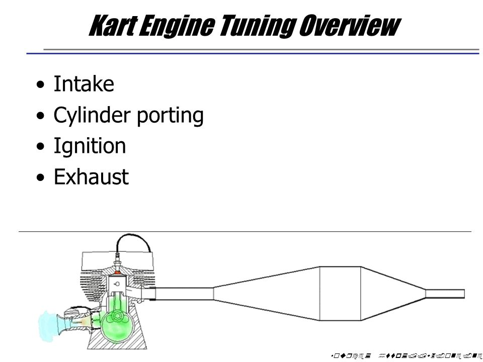 Kart Engine Tuning Overview