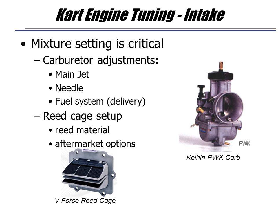 Kart Engine Tuning - Intake