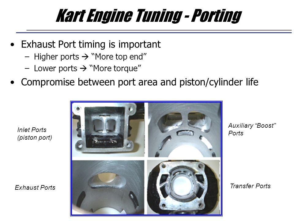 Kart Engine Tuning - Porting