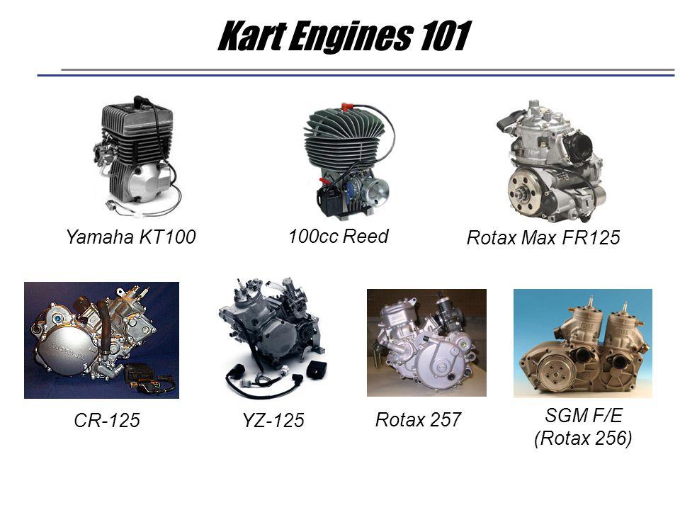 Kart Engines 101 Yamaha KT100 100cc Reed Rotax Max FR125 SGM F/E