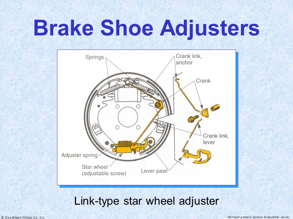 Link-type star wheel adjuster