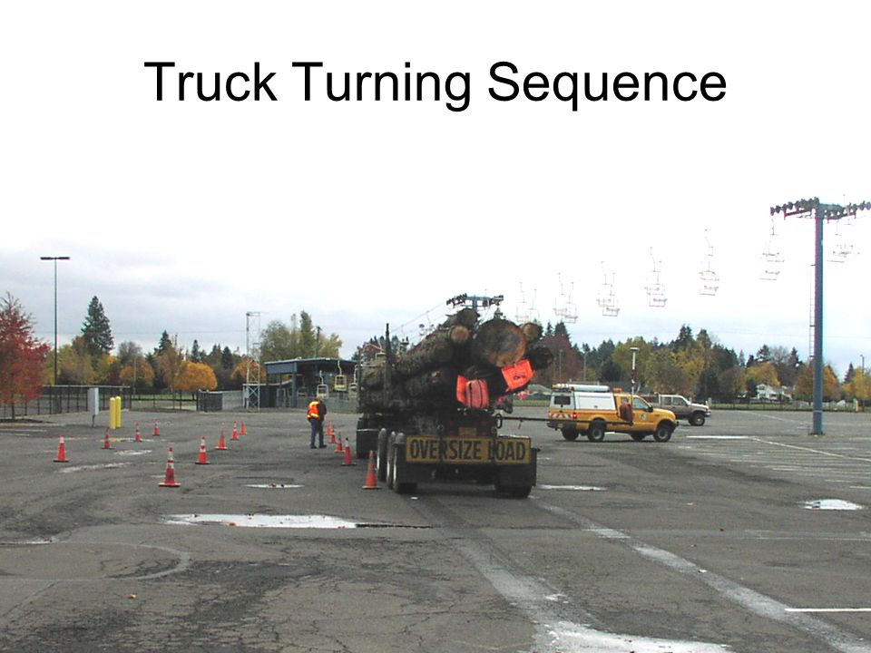 Truck Turning Sequence