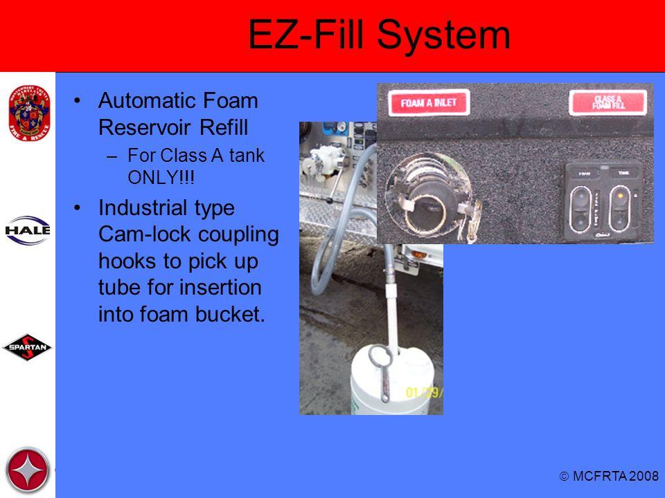 EZ-Fill System Automatic Foam Reservoir Refill