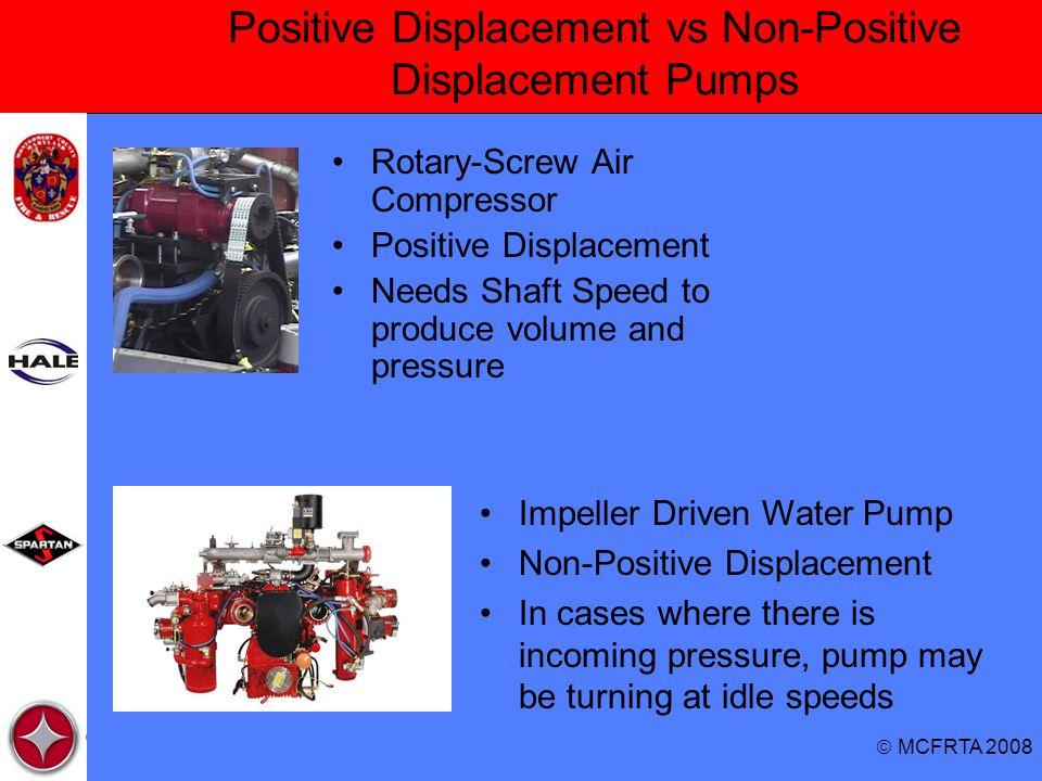 Positive Displacement vs Non-Positive Displacement Pumps